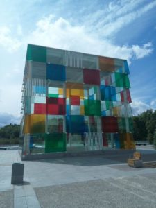 Centro Pompidou nel porto turistico di Malaga
