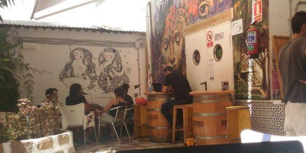 Casa Invisible centro sociale nel centro di Malaga