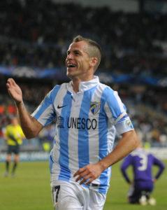 Sergio Duda giocatore del Malaga