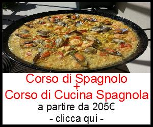 Corso di cucina + corso spagnolo