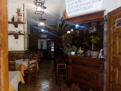 Vendesi ristorante in pieno centro a Malaga - Sala