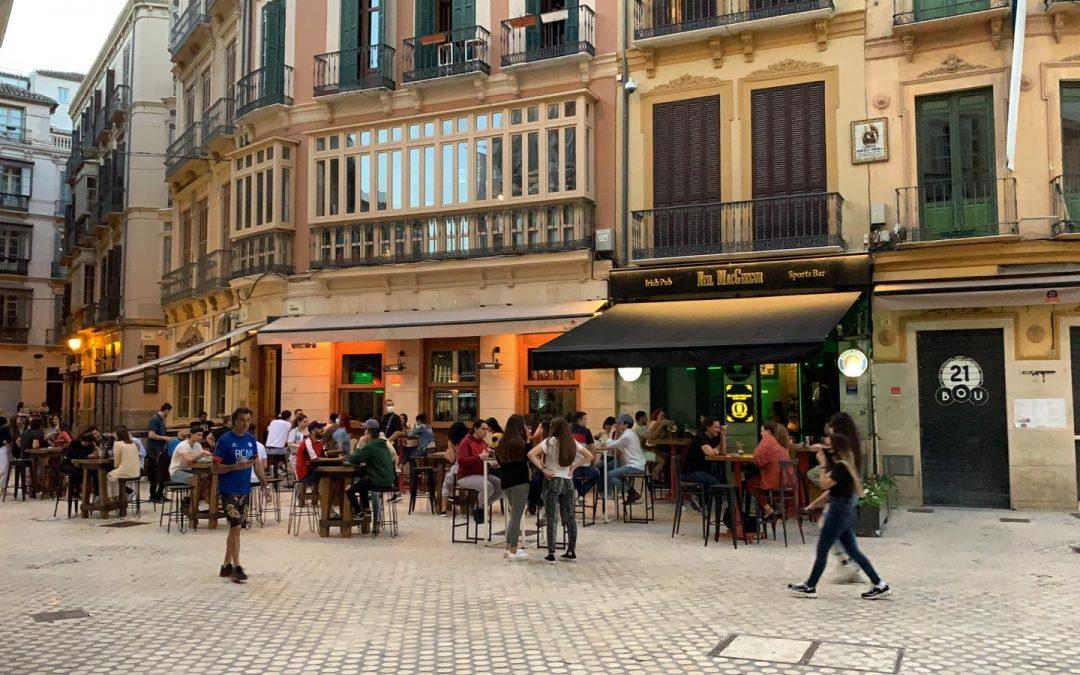 Malaga inizia la fase 1 senza vittime e con solo sette contagi
