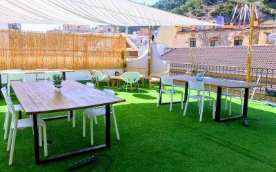 Affittasi chiosco/bar su una terrazza a Malaga